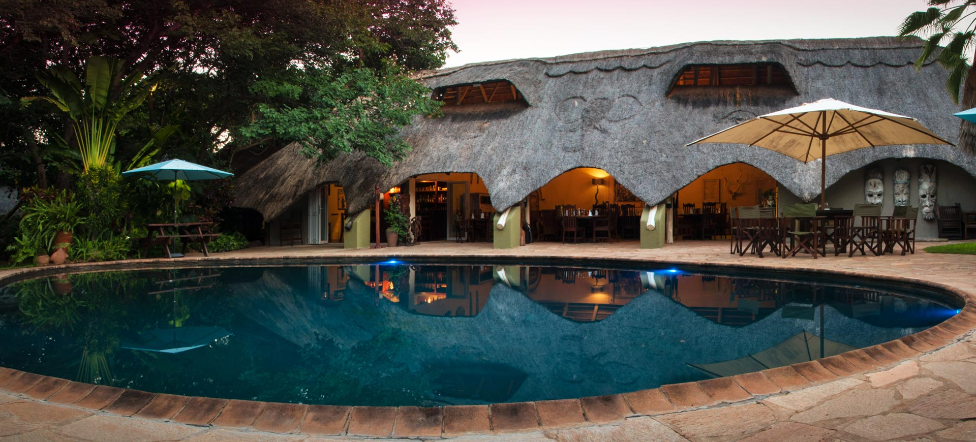 Bayete Lodge Evening
