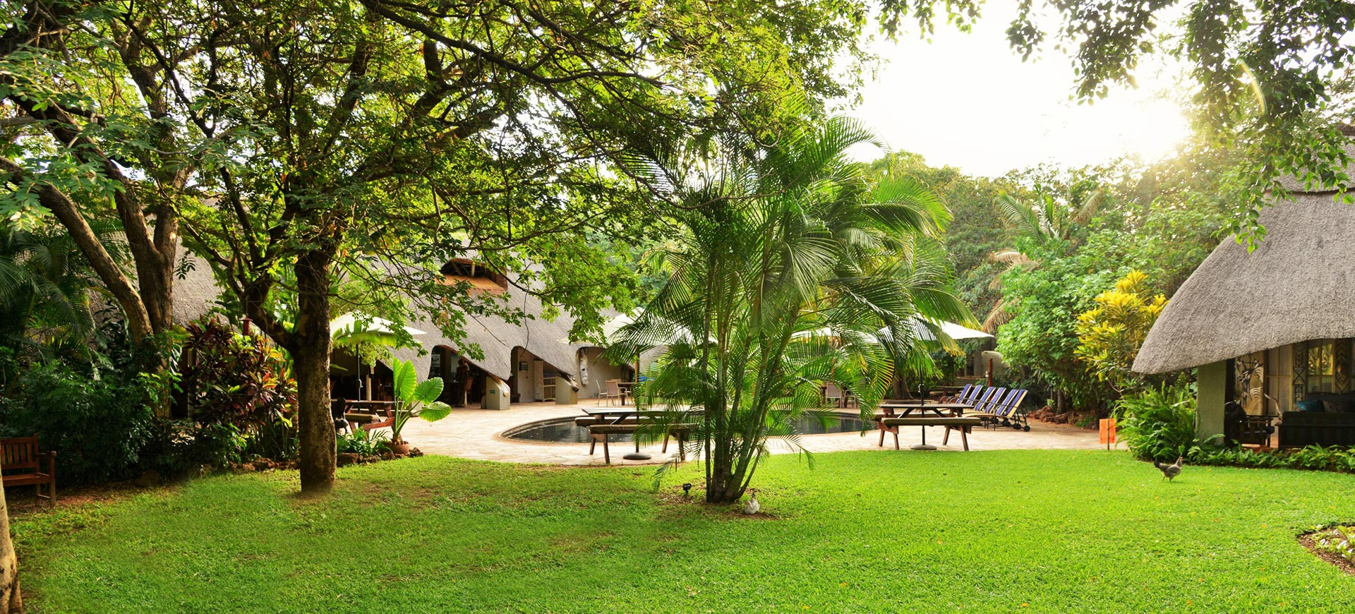 Bayete Lodge Gardens