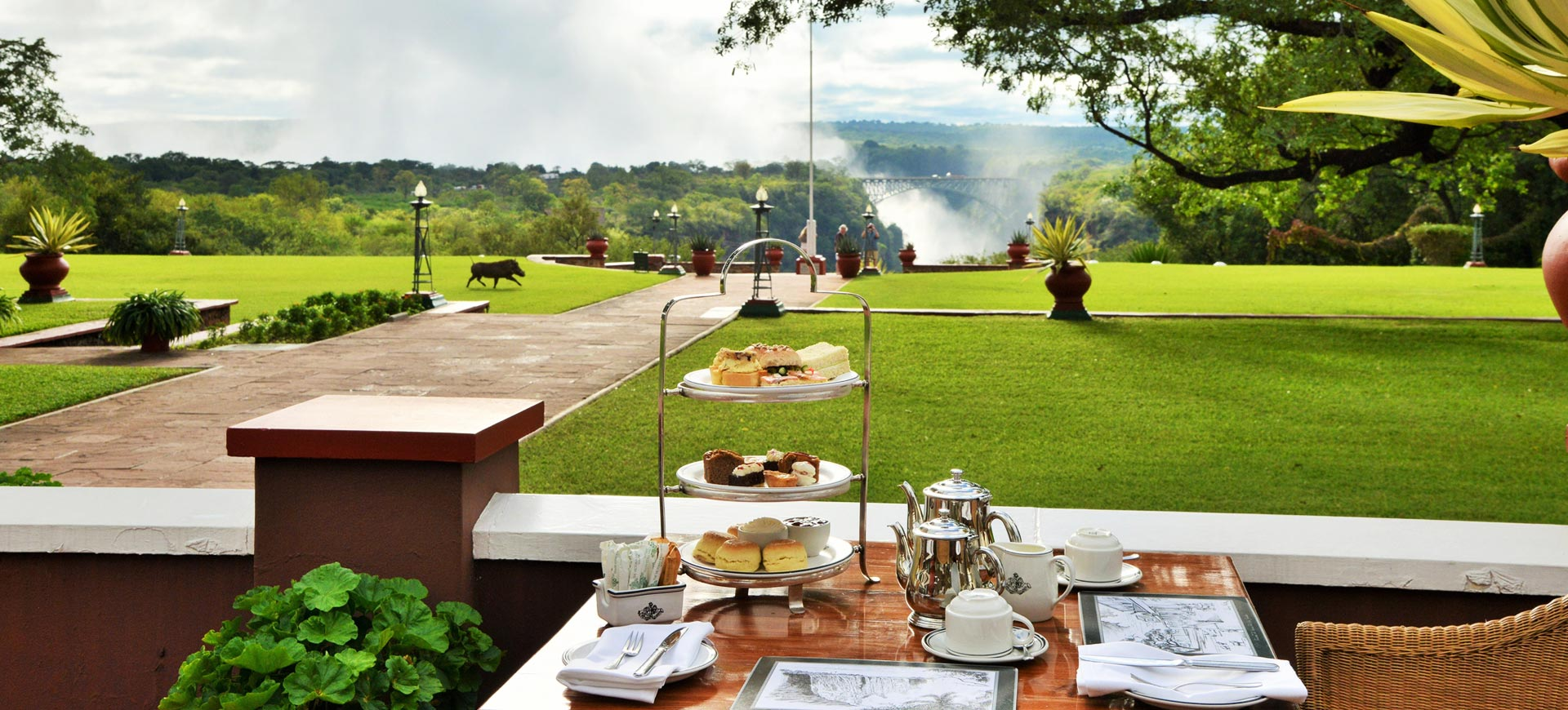 High Tea At Victoria Falls Hotel