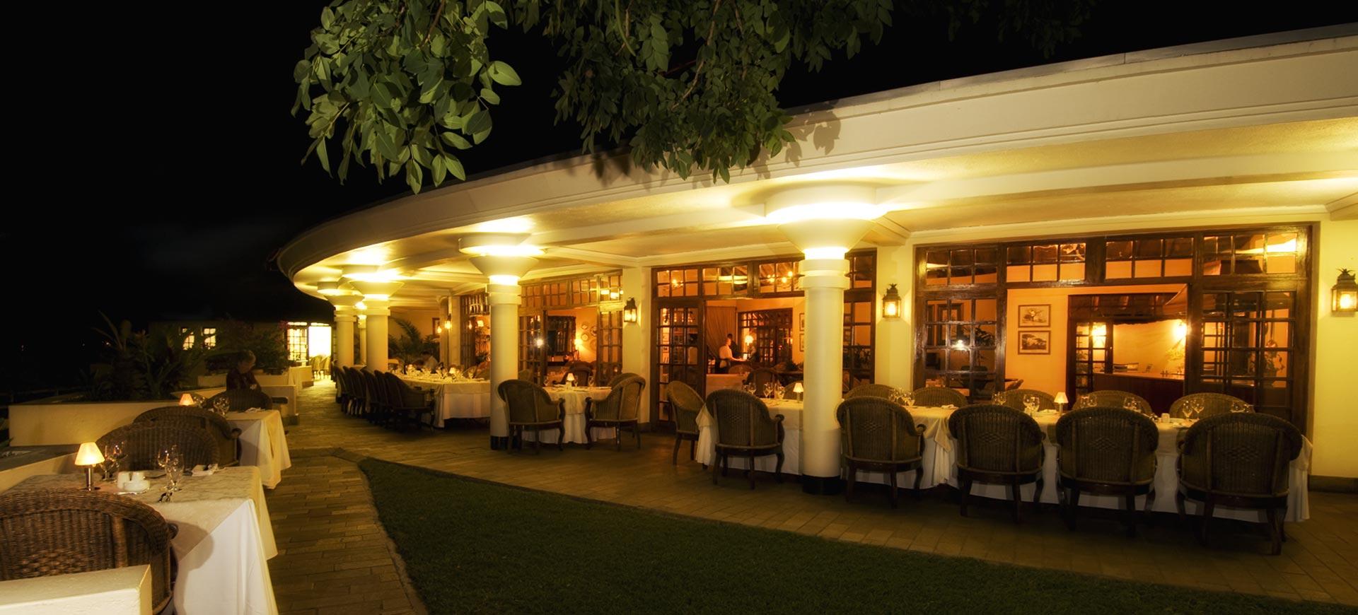 Ilala Lodge Evening