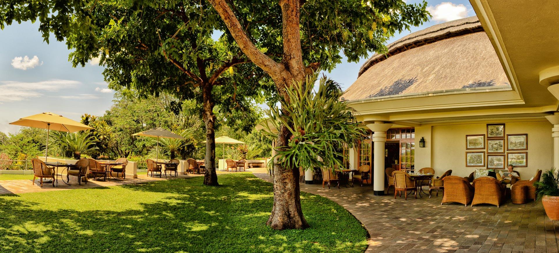 Ilala Lodge Patio