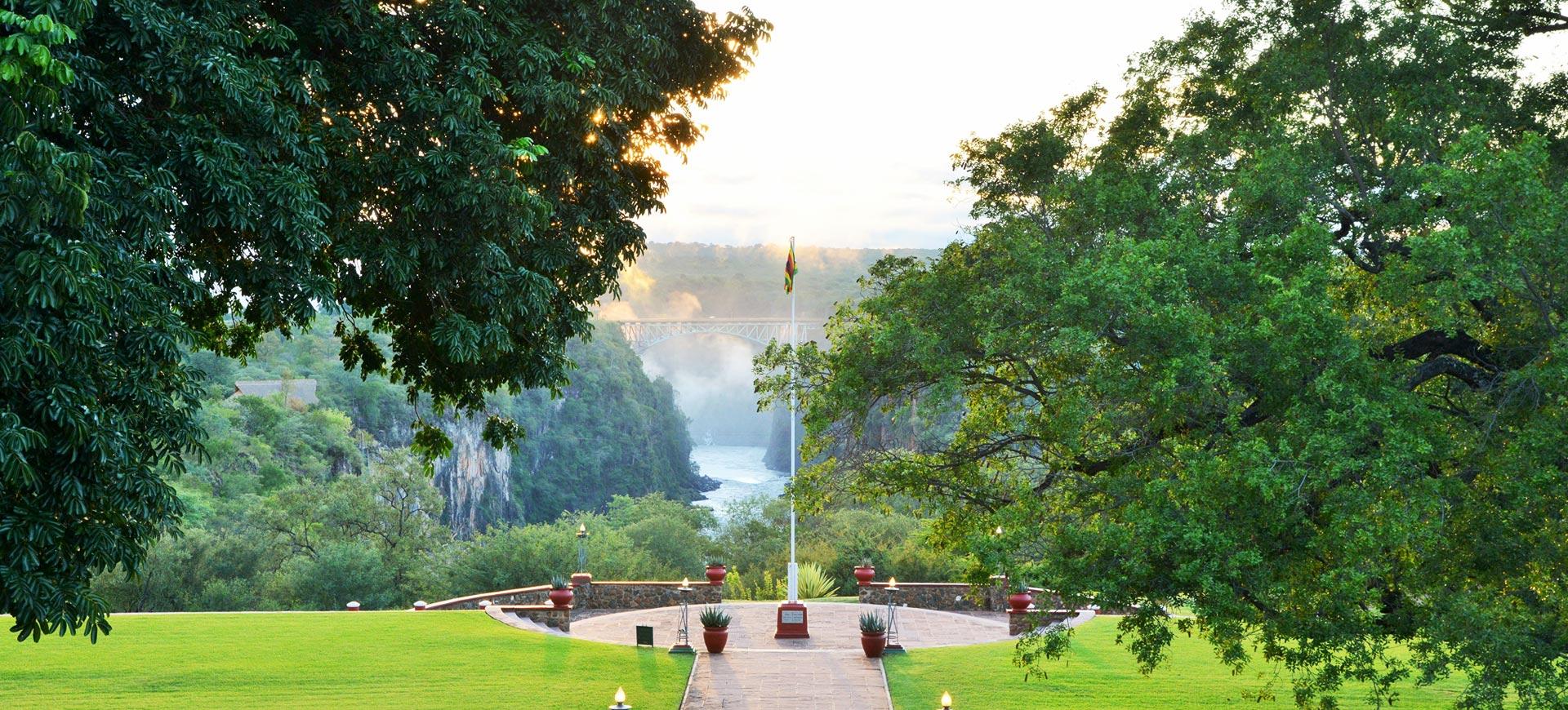 Victoria Falls Hotel Bridge