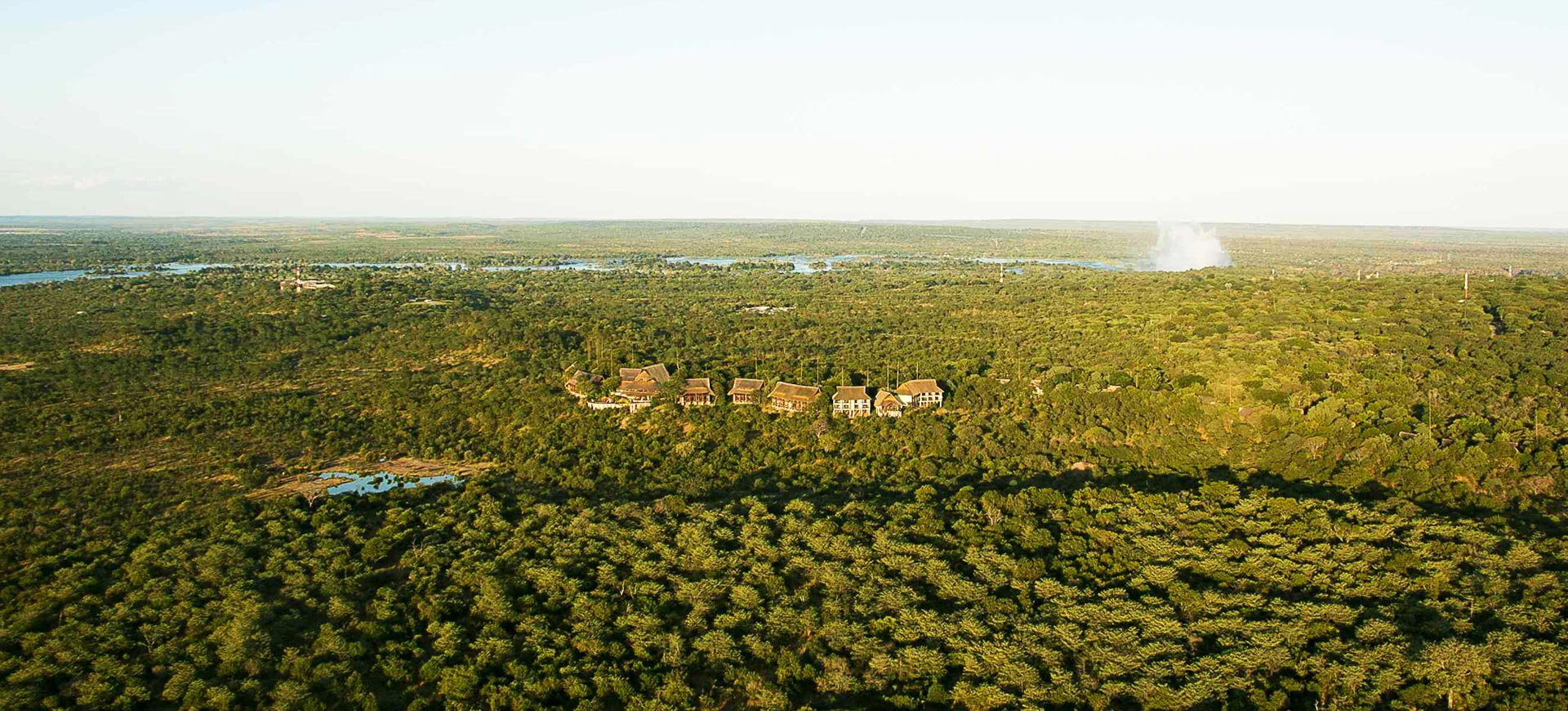 Victoria Falls Safari Lodge Aerial
