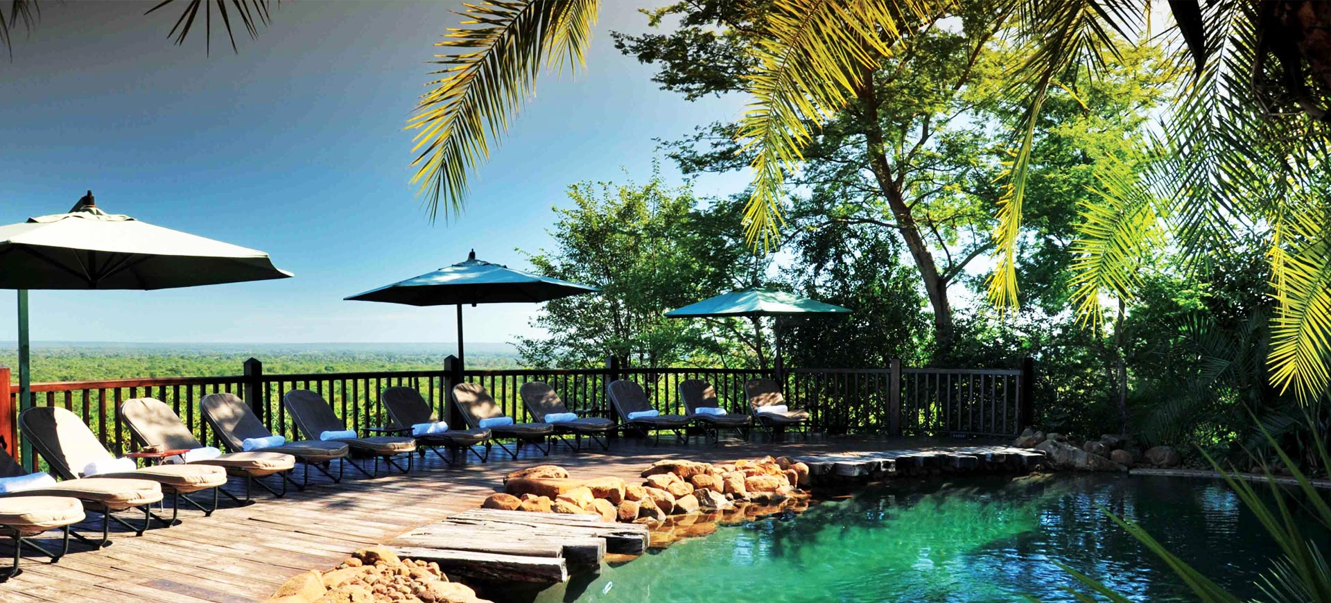 Victoria Falls Safari Lodge Pool