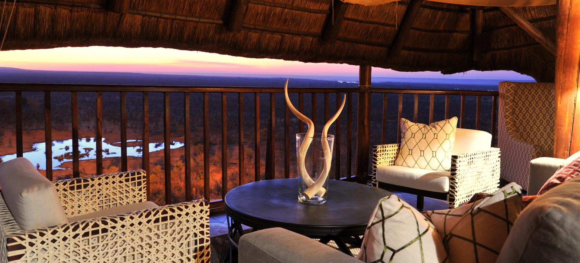 Victoria Falls Safari Lodge Views