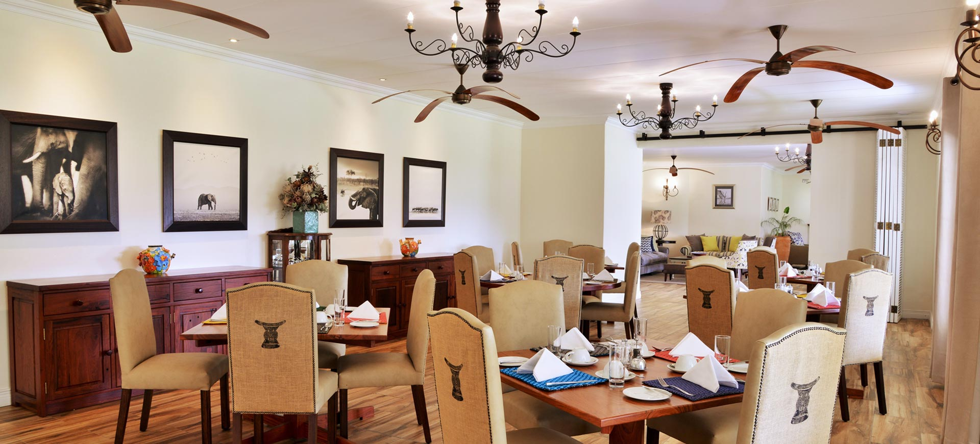Batonka Lodge Dining