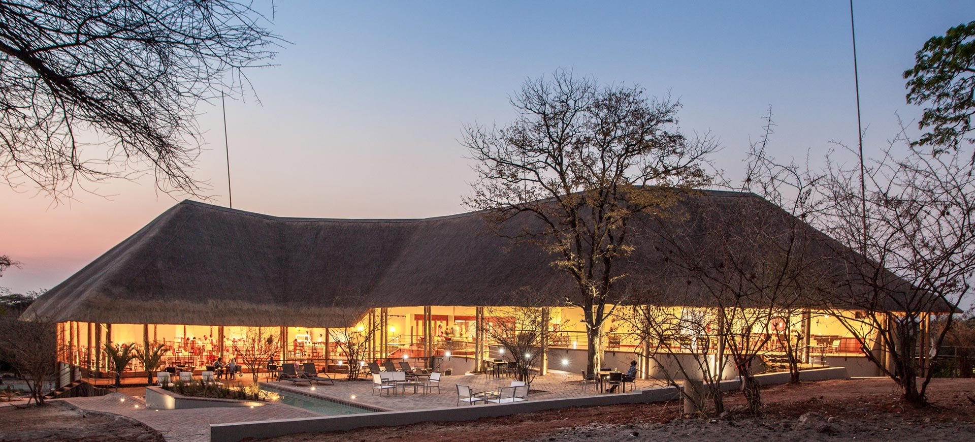 Bush Lodge Chobe Botswana