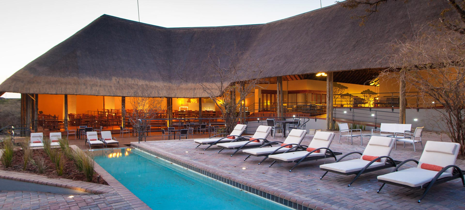 Chobe Bush Lodge Pool