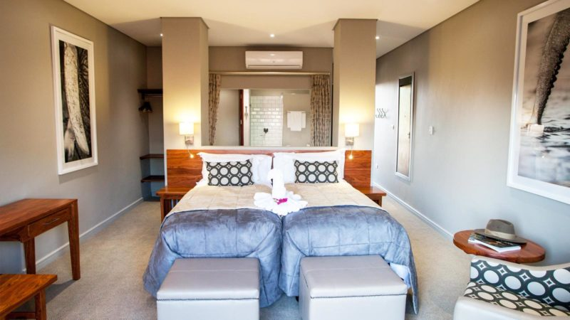 Chobe Bush Lodge Twin Room