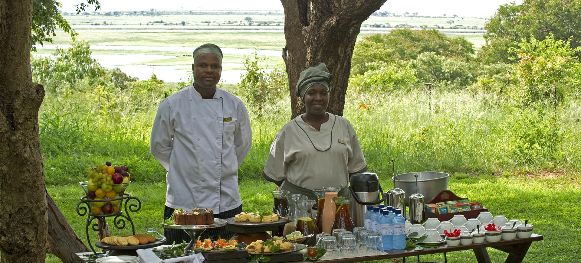Chobe Chilwero High Tea