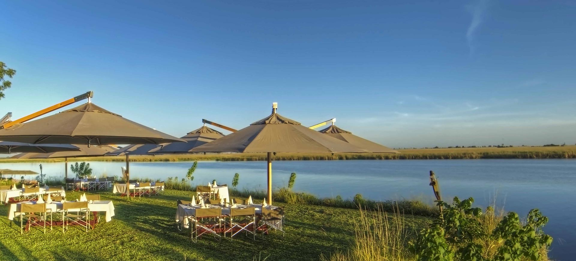 Chobe Game Lodge Breakfast