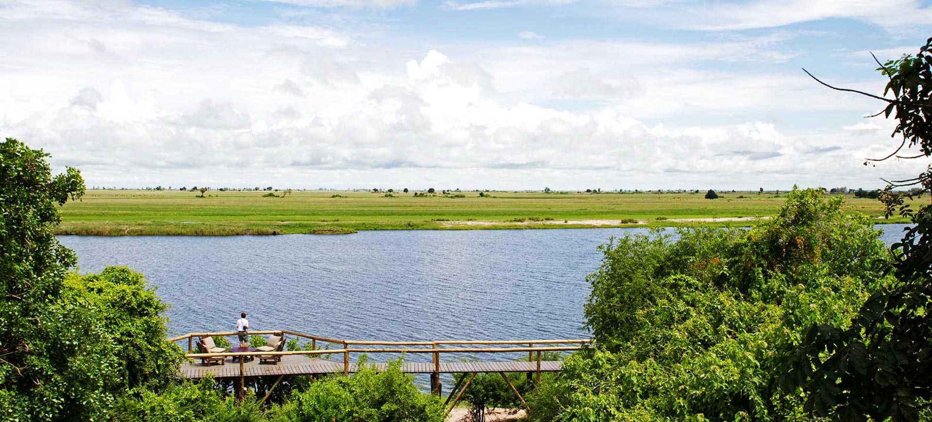 Chobe Game Lodge Deck