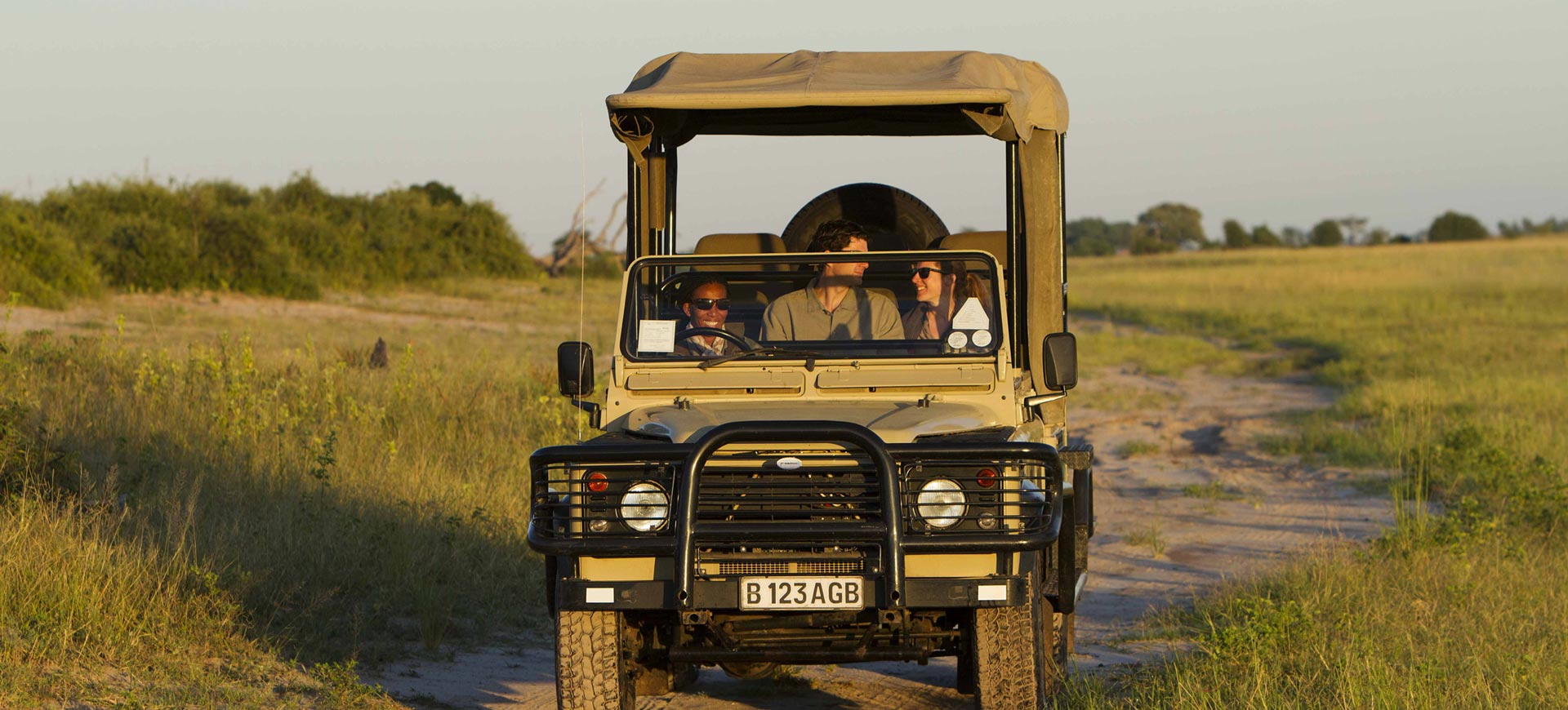 Chobe Game Lodge Drive