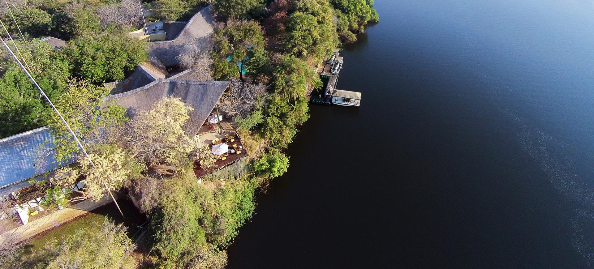 Chobe Safari Lodge Deck