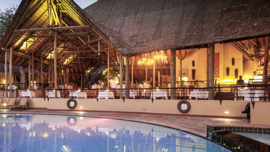 Chobe Safari Lodge Pool