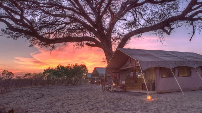 Chobe Under Canvas Accommodation