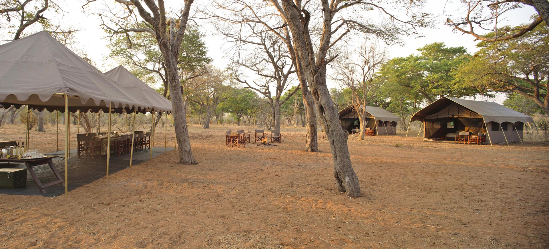 Chobe Under Canvas Campsite