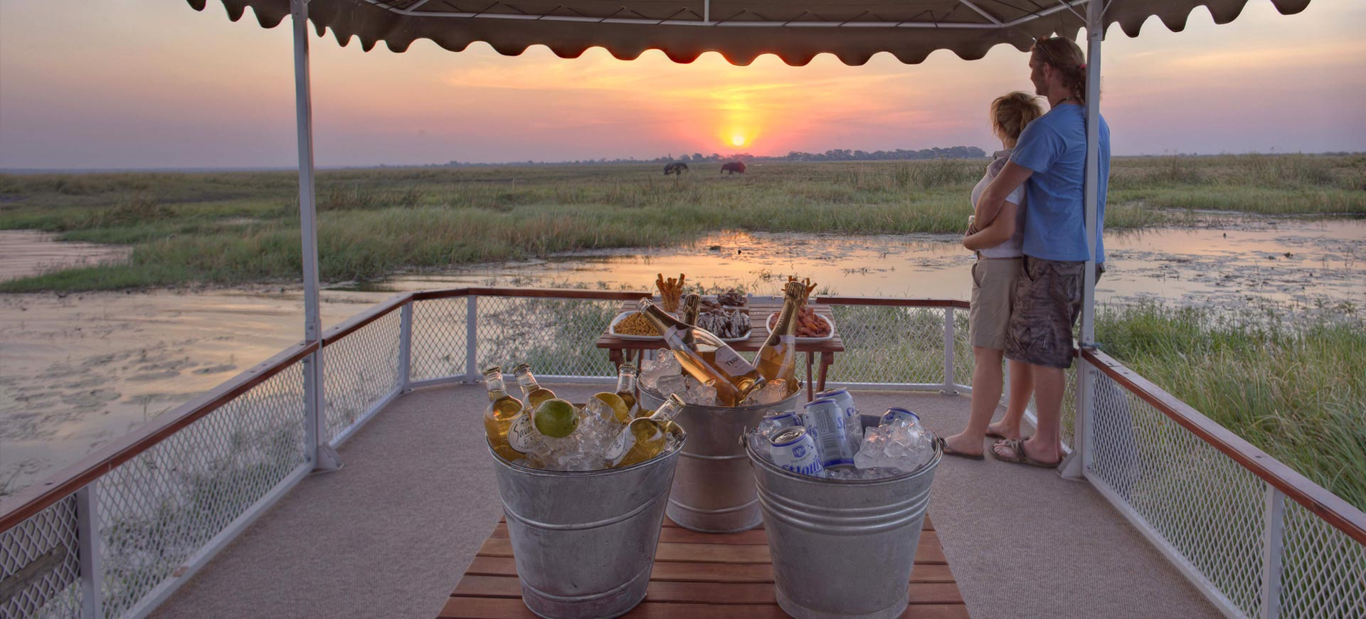 Chobe Under Canvas Cruise