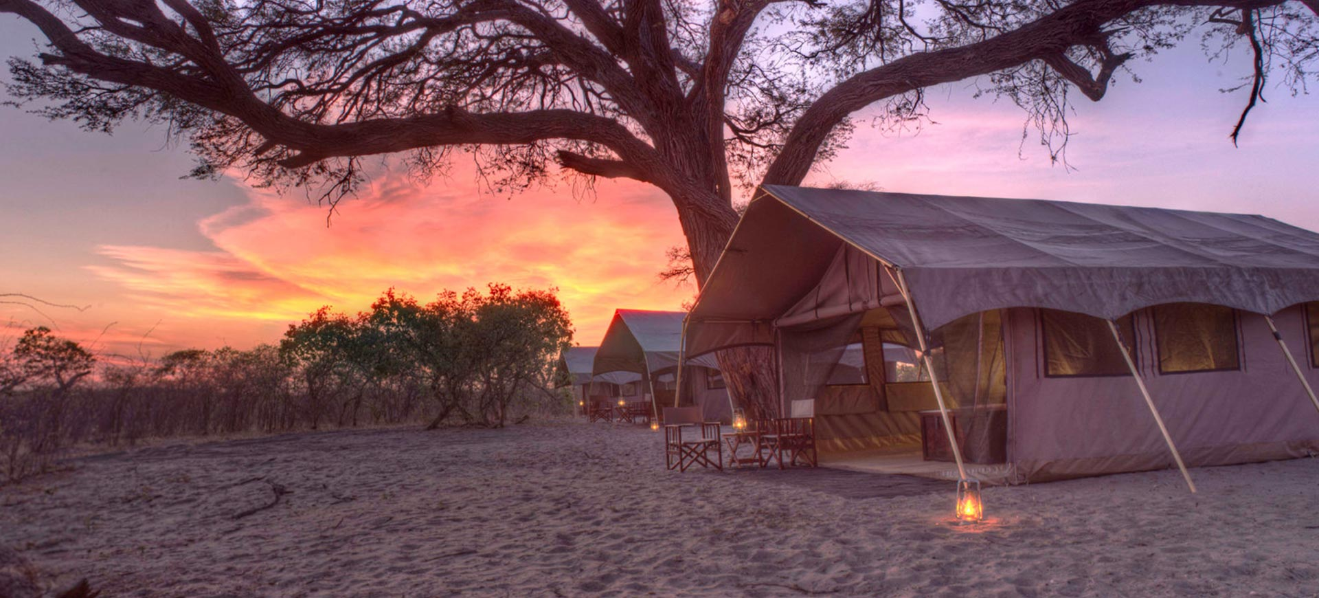 Chobe Under Canvas Exterior