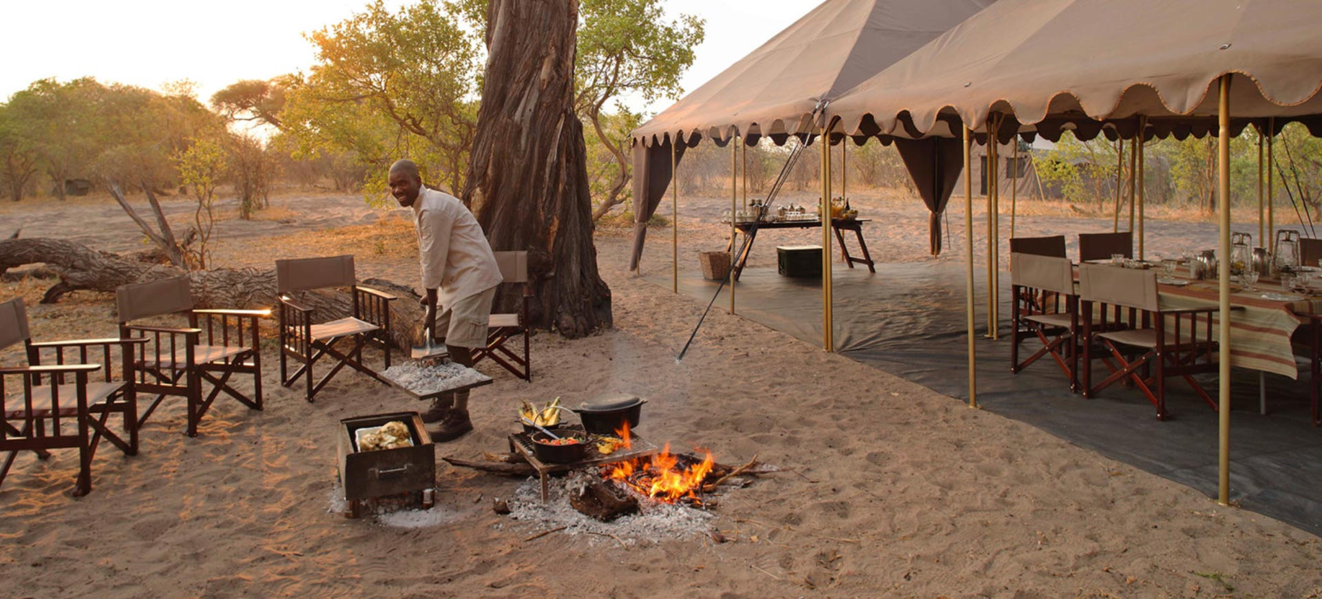 Chobe Under Canvas Morning