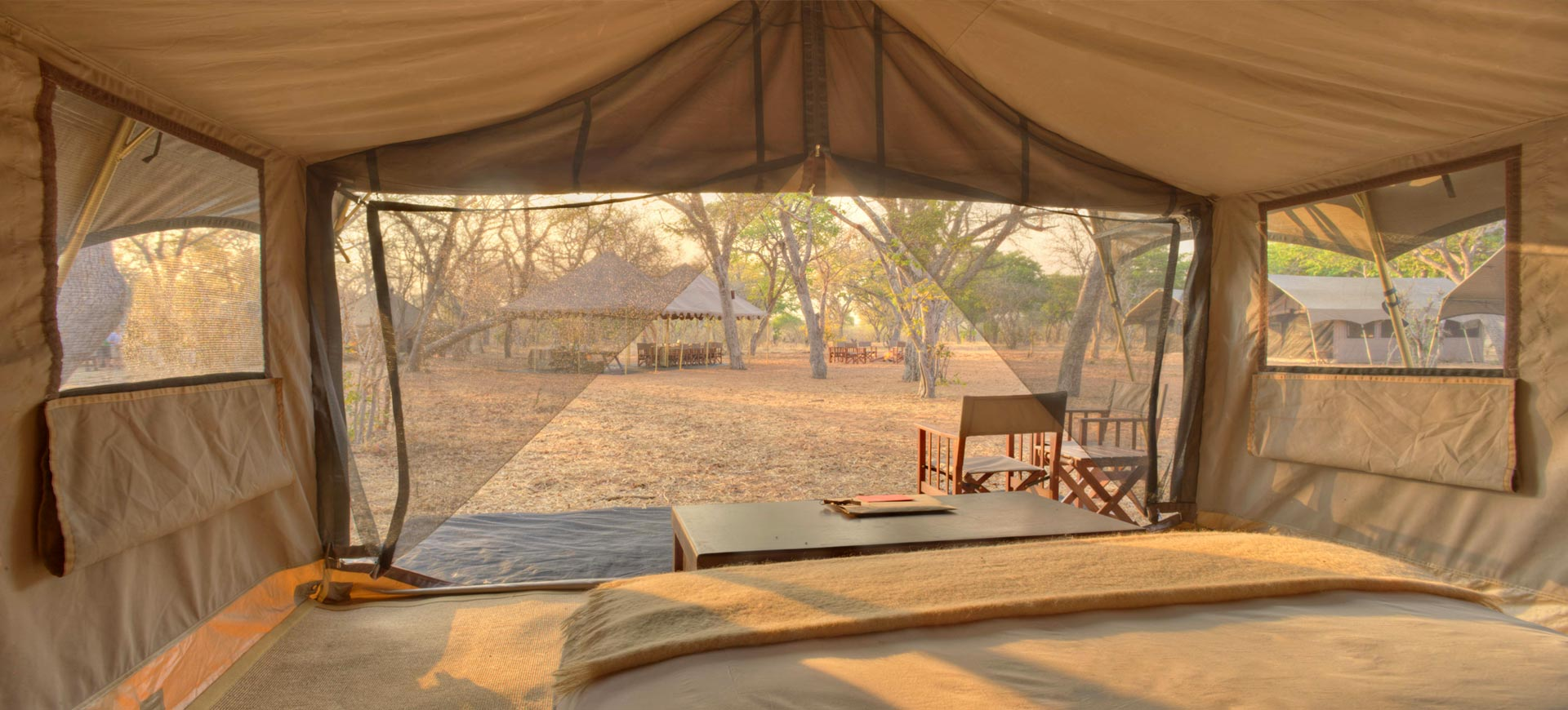 Chobe Under Canvas Tent