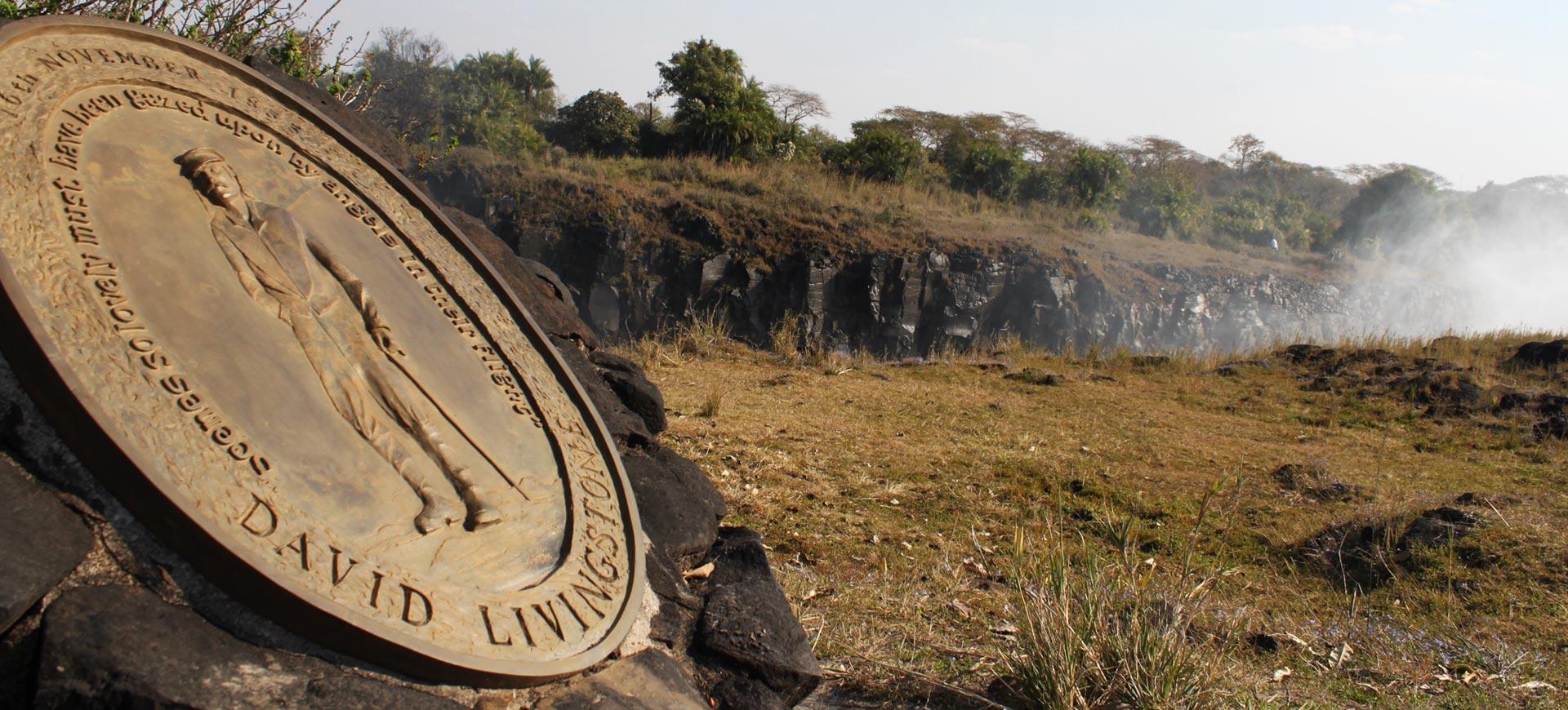 Livingstone Statue Livingstone Island