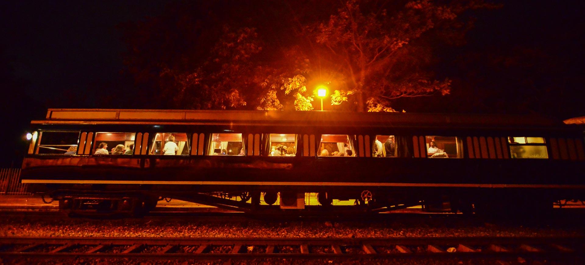 Steam Train Ride Victoria Falls