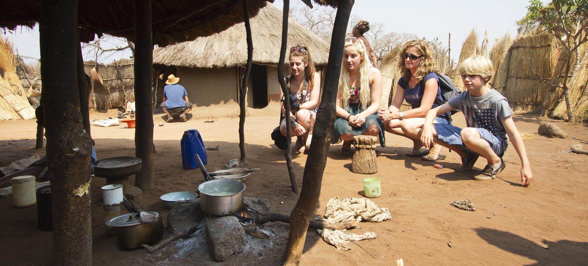 Victoria Falls Cultural Village Tour