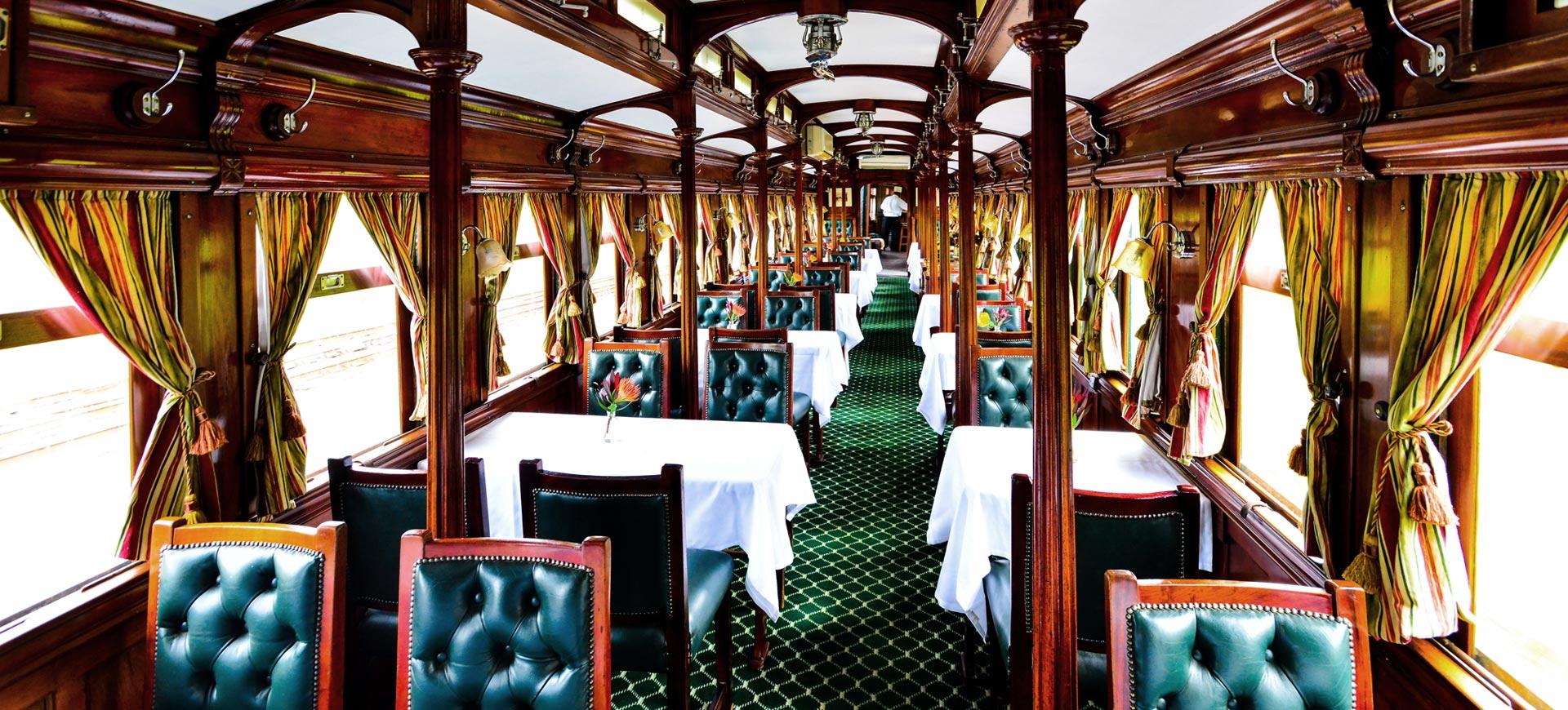 Victoria Falls Dinner Steam Train