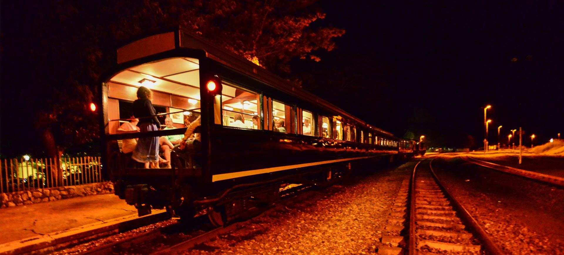 Victoria Falls Steam Train Trip