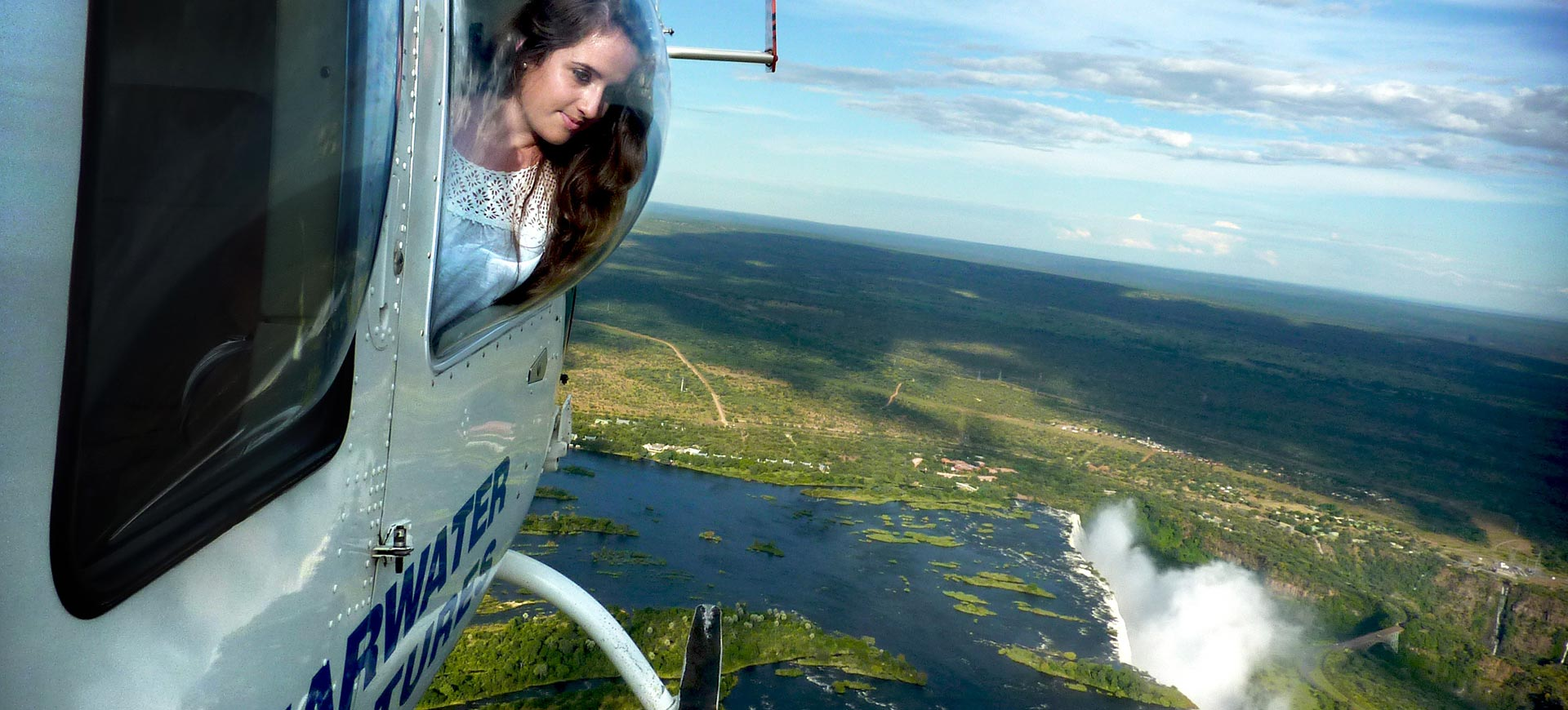 Zambezi Helicopter Flight