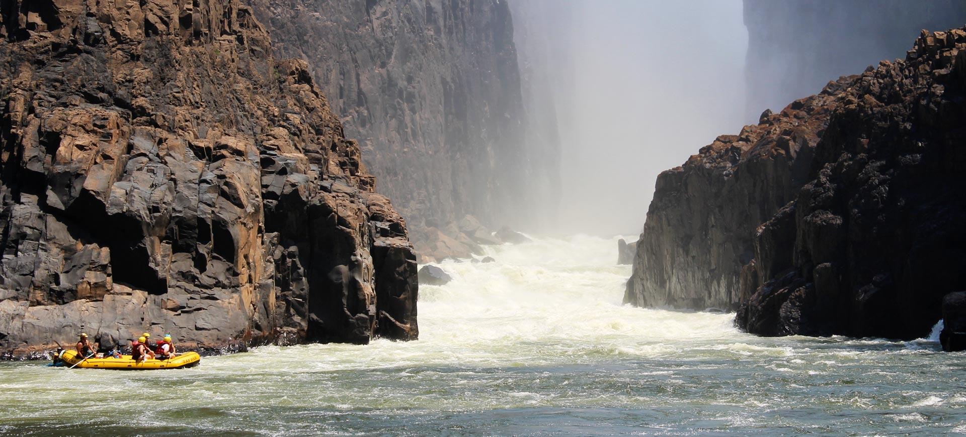 Zambezi Rafting Victoria Falls