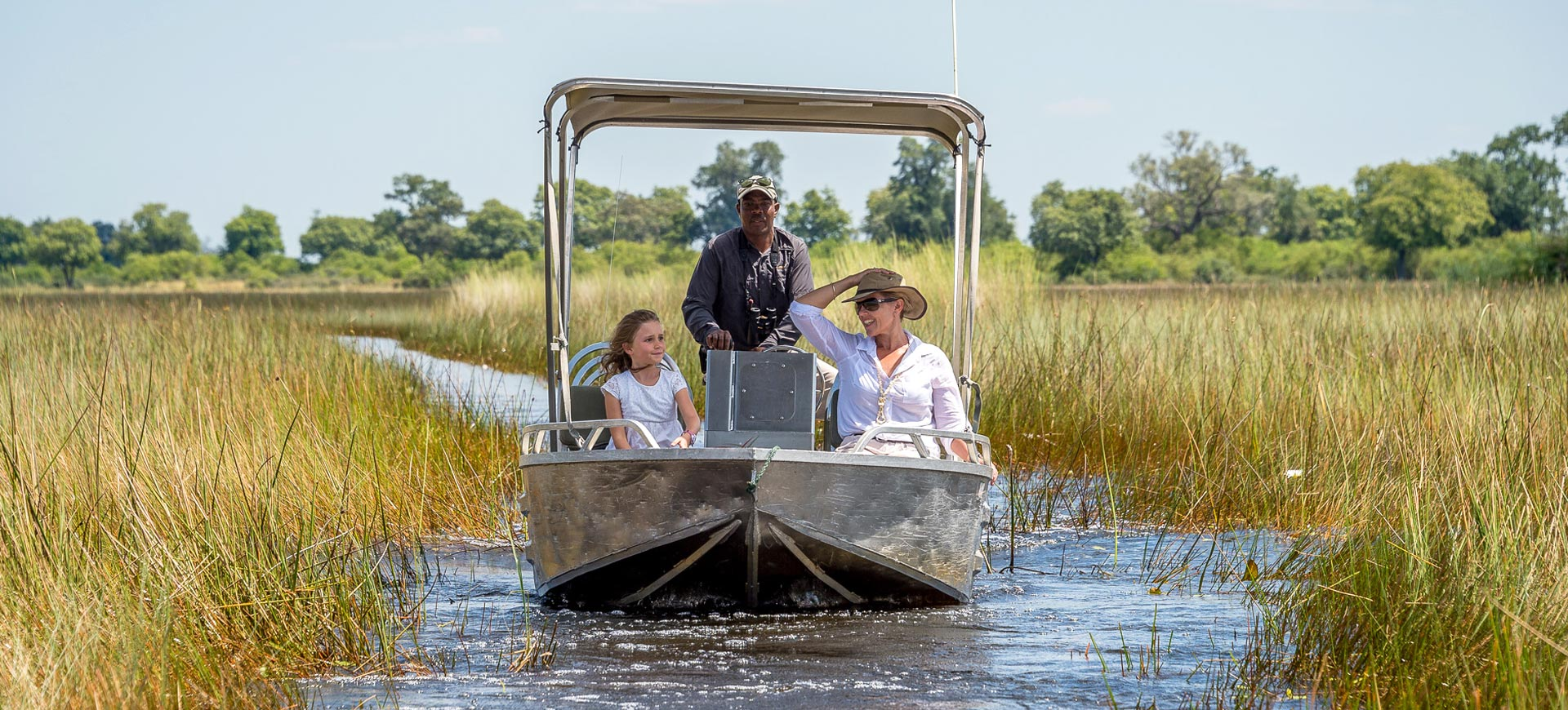 Boat Cruise Okavango Delta