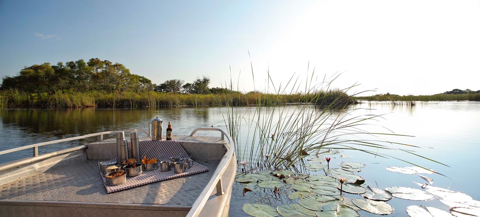Boat Cruises Okavango Delta