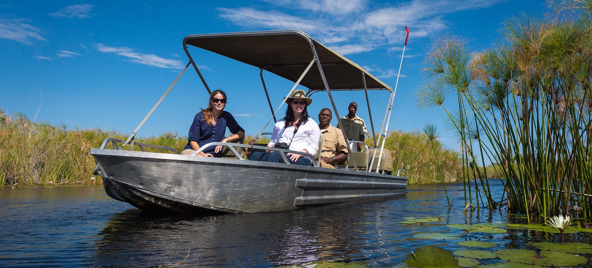 Boat Cruises On Okavango Delta
