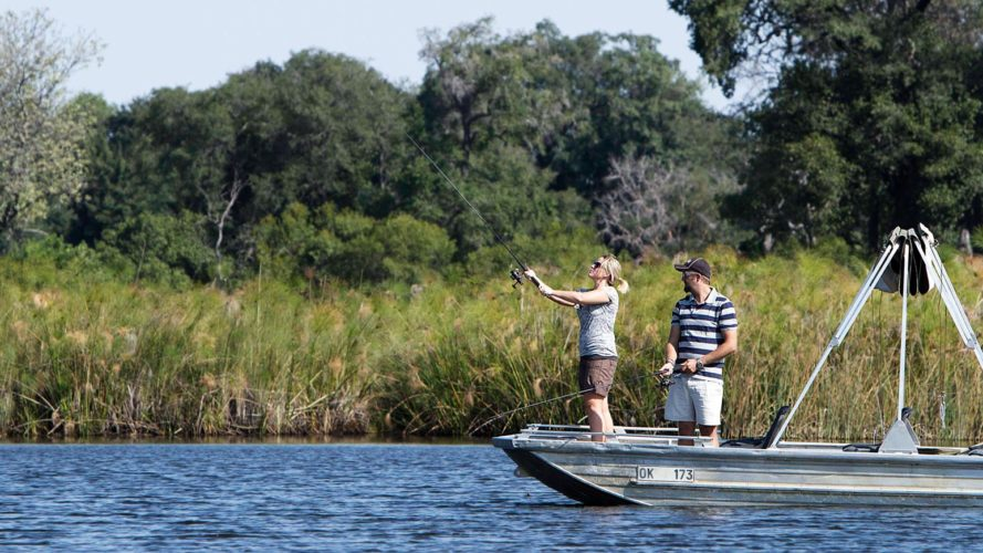 Okavango Delta Fishing Safari