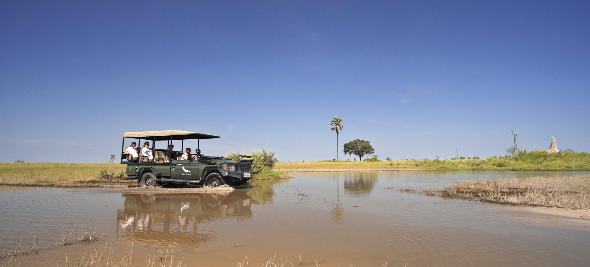 Okavango Delta Game Driving