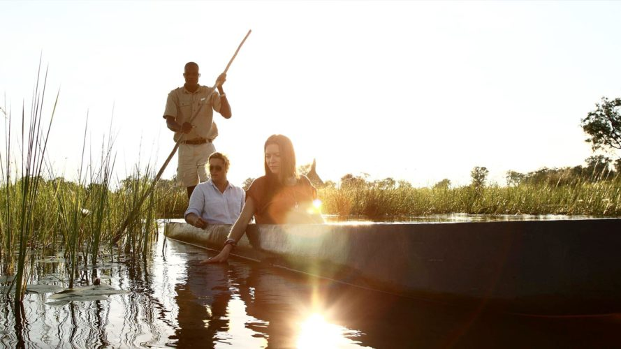 Okavango Delta Mokoro Excursion