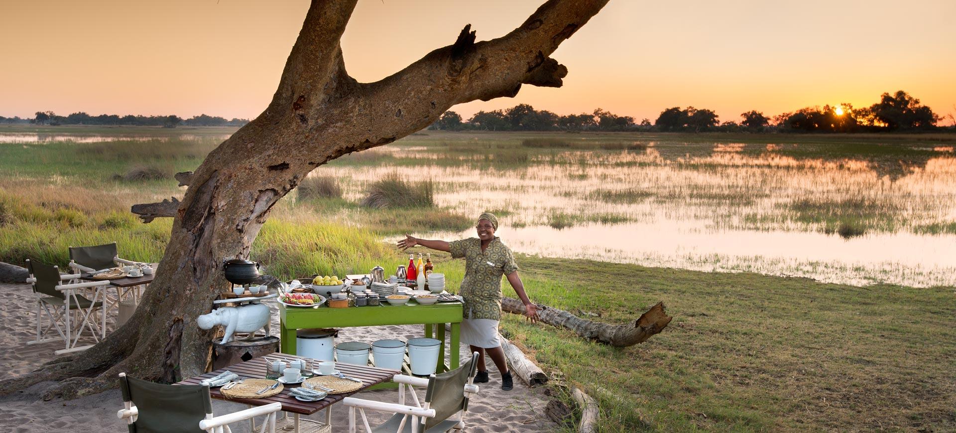 Okavango Xaranna Delta Camp