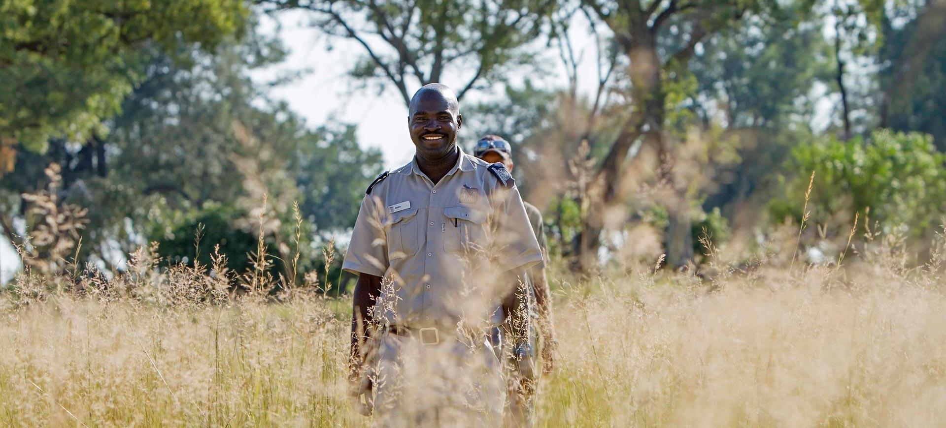 Safari Walking Okavango Delta