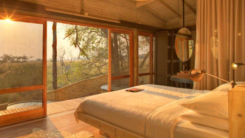 Sandibe Okavango Delta Lodge Room