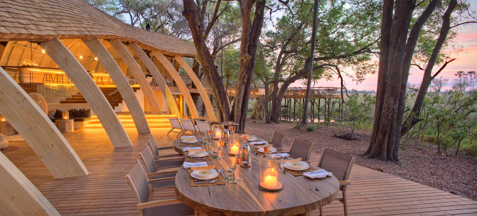 Sandibe Okavango Delta Safari Lodge