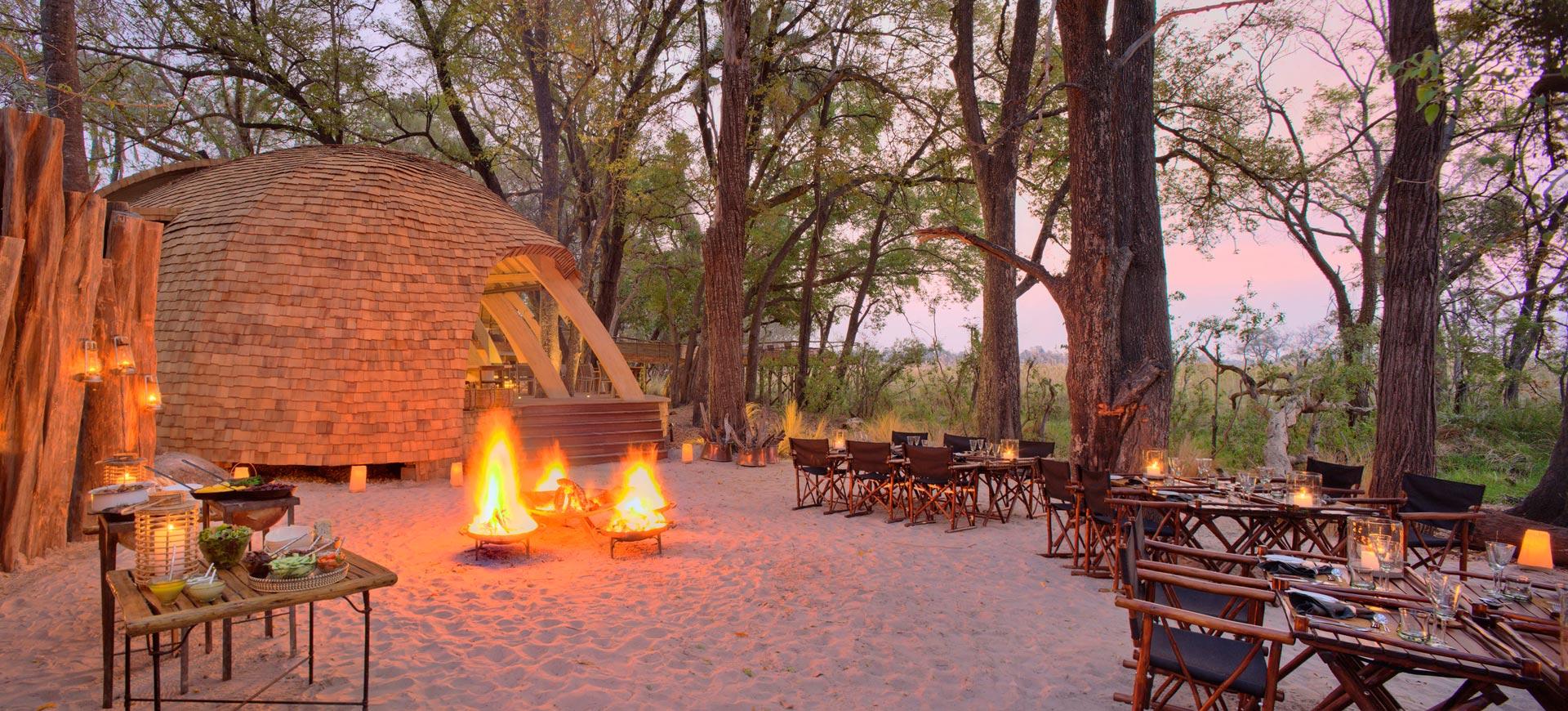 Sandibe Okavango Delta Safari Lodges