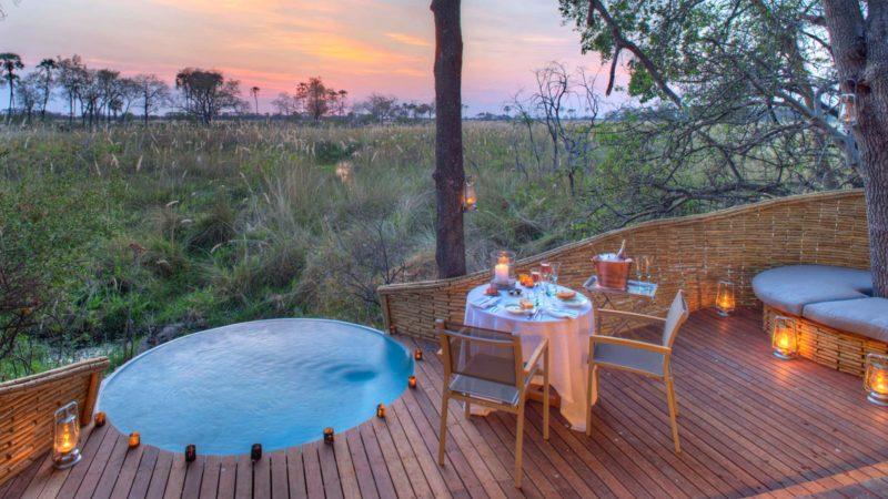 Sandibe Okavango Lodge Pool