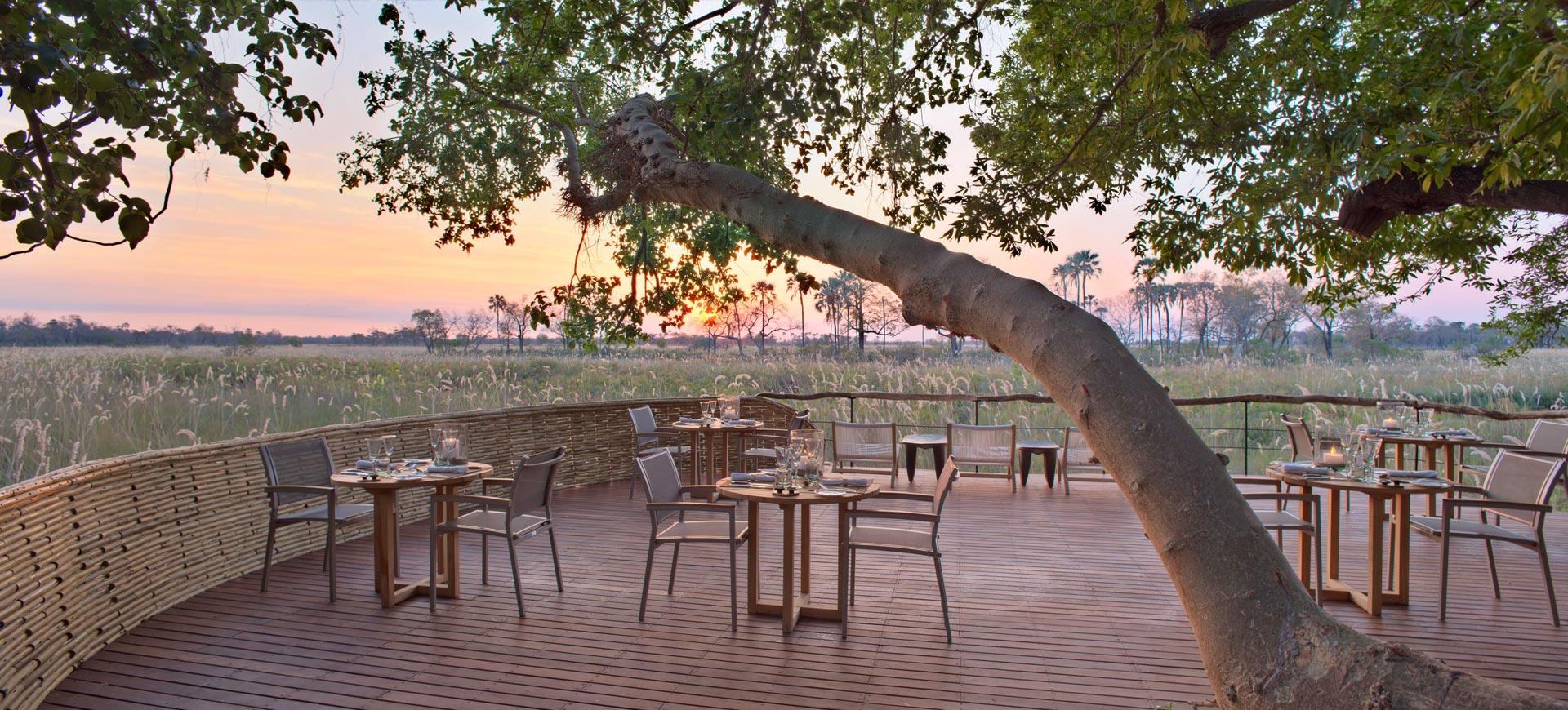 Sandibe Okavango Safari Lodges