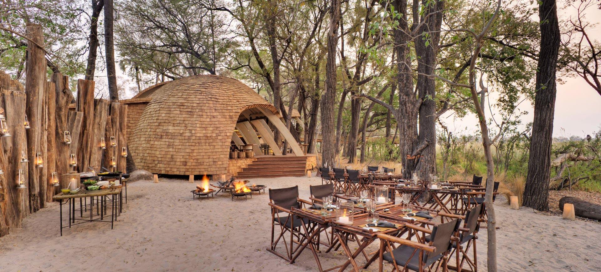 Sandibe Safari Lodge Okavango Delta