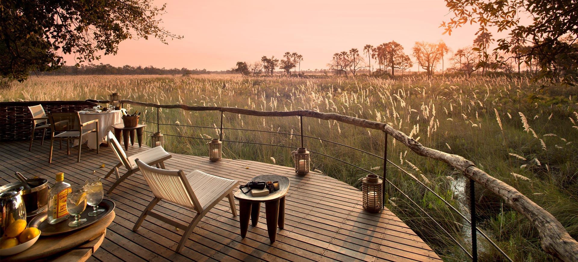 Sandibe Safari Lodge Okavango