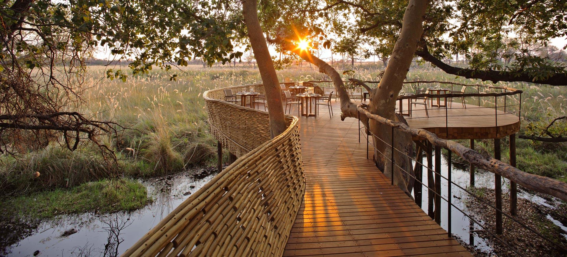 Sandibe Safari Lodge