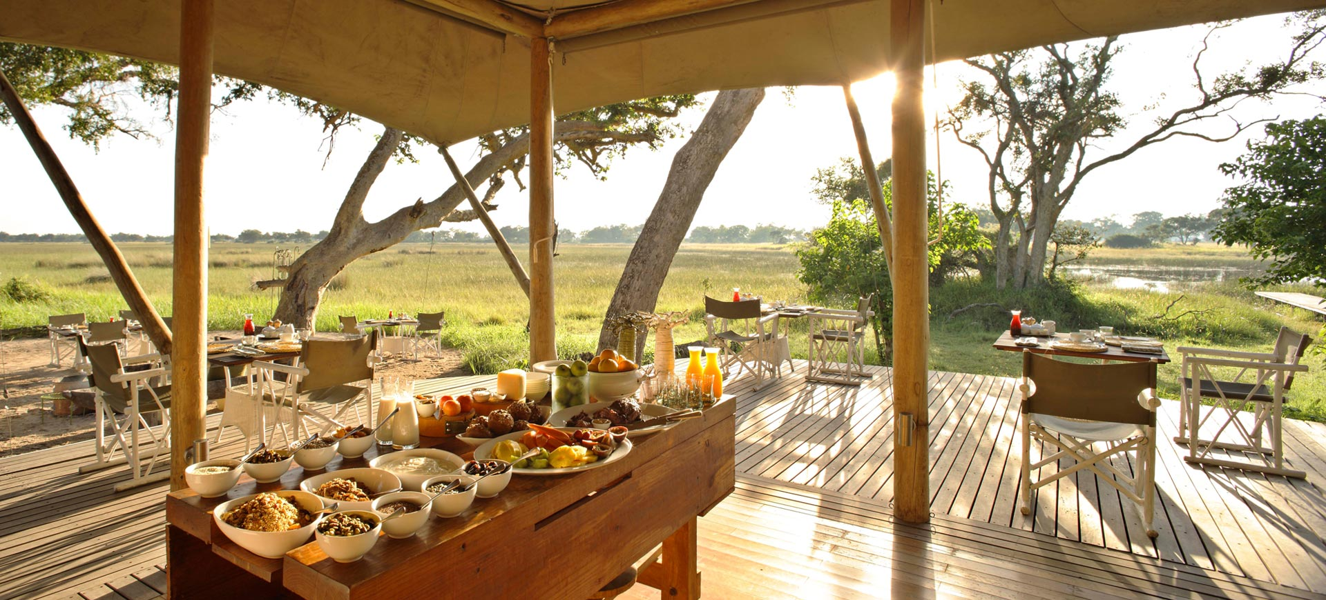 Xaranna Okavango Camp Breakfast