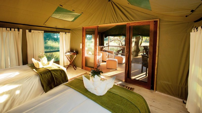 Accommodation Gunns Okavango